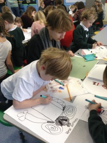 Pupils drawing