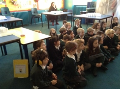 Pupils watching a Generation Science show