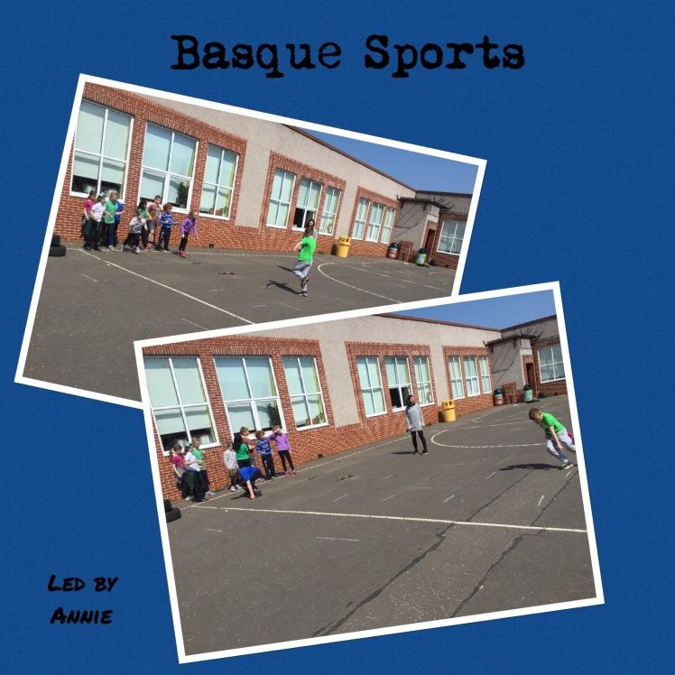 Collage of Basque Sports photos