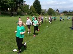 Granton pupils running in mini marathon