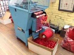 A poppy machine for punching out poppy shapes